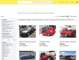 vehiculos.mercadolibre.com.mx screenshot