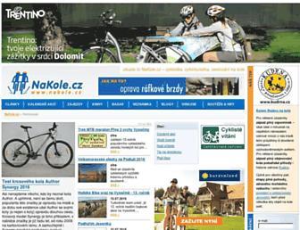 nakole.cz screenshot
