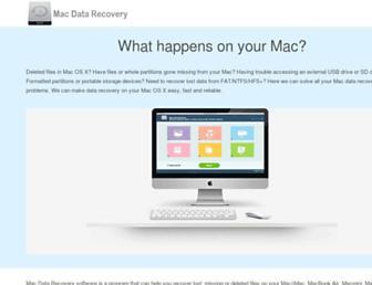 mac-data-recovery.com screenshot