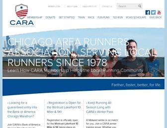 cararuns.org screenshot