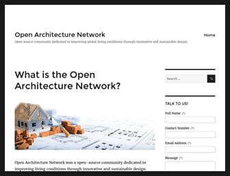 Thumbshot of Openarchitecturenetwork.org