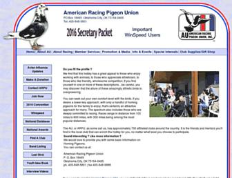 Main page screenshot of pigeon.org