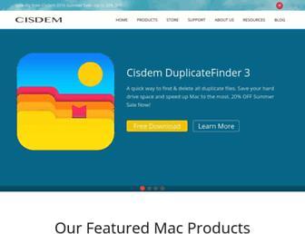 cisdem.com screenshot
