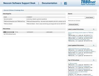 kb.trbonet.com screenshot