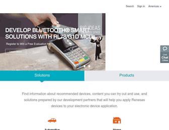 Thumbshot of Renesas.com