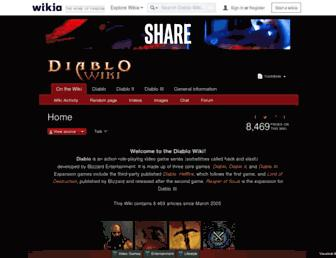 diablo.wikia.com screenshot