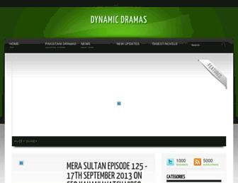 dynamicdramas.blogspot.com screenshot