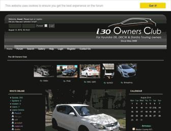 i30ownersclub.com screenshot