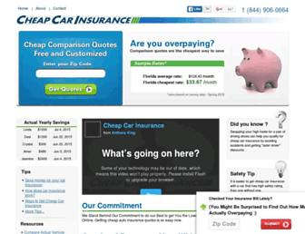 Thumbshot of Cheapcarinsurance.net