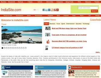 indiasite.com screenshot