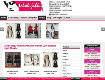 tokohijabku.com screenshot