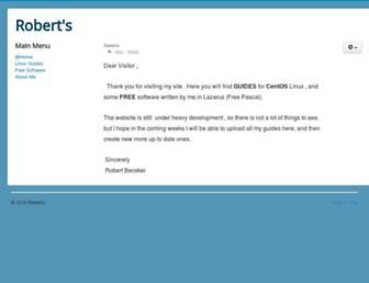 roberts.bplaced.net screenshot