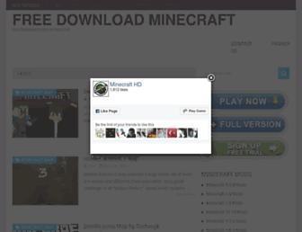 Thumbshot of Freedownloadminecraft.com