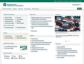 wsdot.wa.gov screenshot