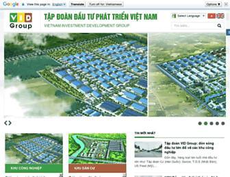 vidgroup.com.vn screenshot