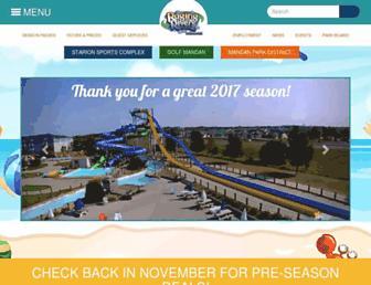 ragingriverswaterpark.com screenshot