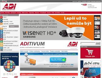 adiglobal.cz screenshot