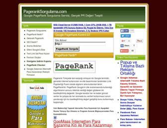 Thumbshot of Pageranksorgulama.com