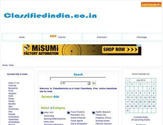 Thumbshot of Classifiedindia.co.in