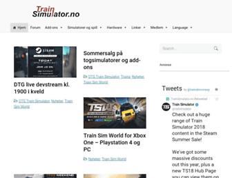 trainsimulator.no screenshot