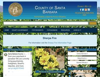 countyofsb.org screenshot