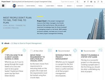 projectsmart.co.uk screenshot
