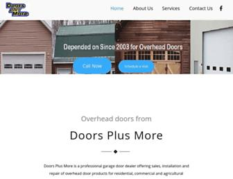 doorsplusmore.us screenshot