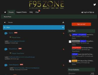 f95zone.com screenshot