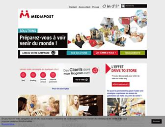 mediapost.fr screenshot