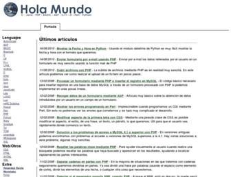 holamundo.es screenshot