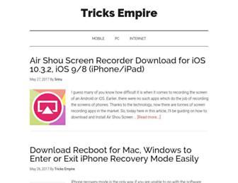tricksempire.com screenshot