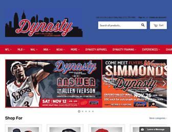 shopdynastysports.com screenshot
