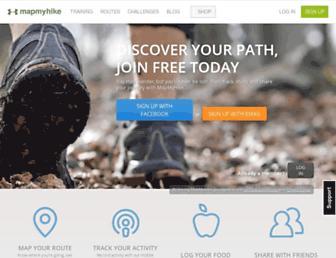Thumbshot of Mapmyhike.com