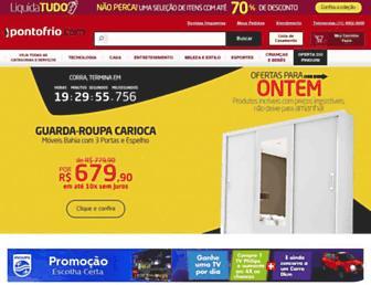 Thumbshot of Pontofrio.com.br