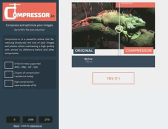 compressor.io screenshot