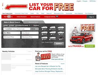 autotrader.ca screenshot