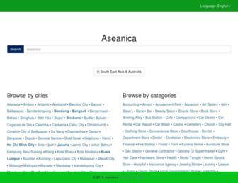 aseanica.com screenshot