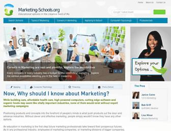 marketing-schools.org screenshot