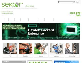 sektor.com.au screenshot