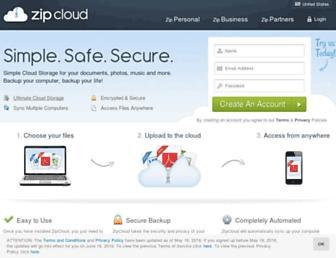 Thumbshot of Zipcloud.com
