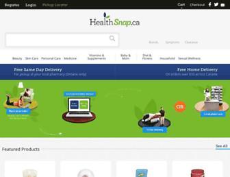 healthsnap.ca screenshot