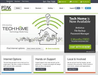 Thumbshot of Peakinternet.com