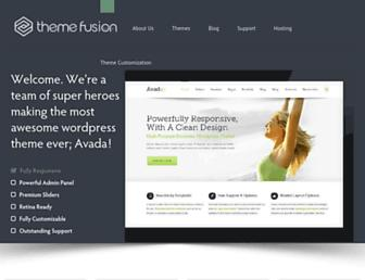Thumbshot of Theme-fusion.com
