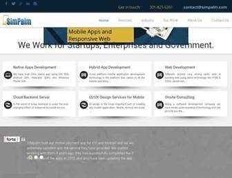 simpalm.com screenshot