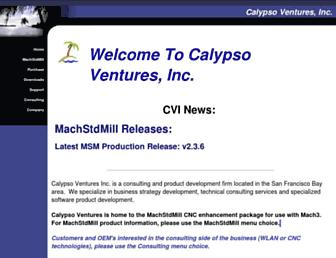 calypsoventures.com screenshot