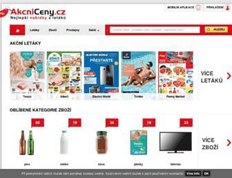Thumbshot of Akcniceny.cz