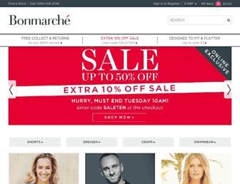 Thumbshot of Bonmarche.co.uk