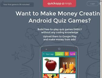 quickappninja.com screenshot