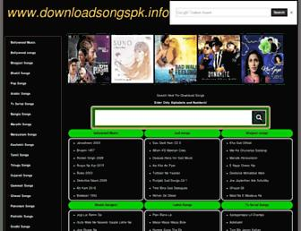 downloadsongspk.info screenshot
