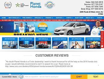 planethondanj.com screenshot